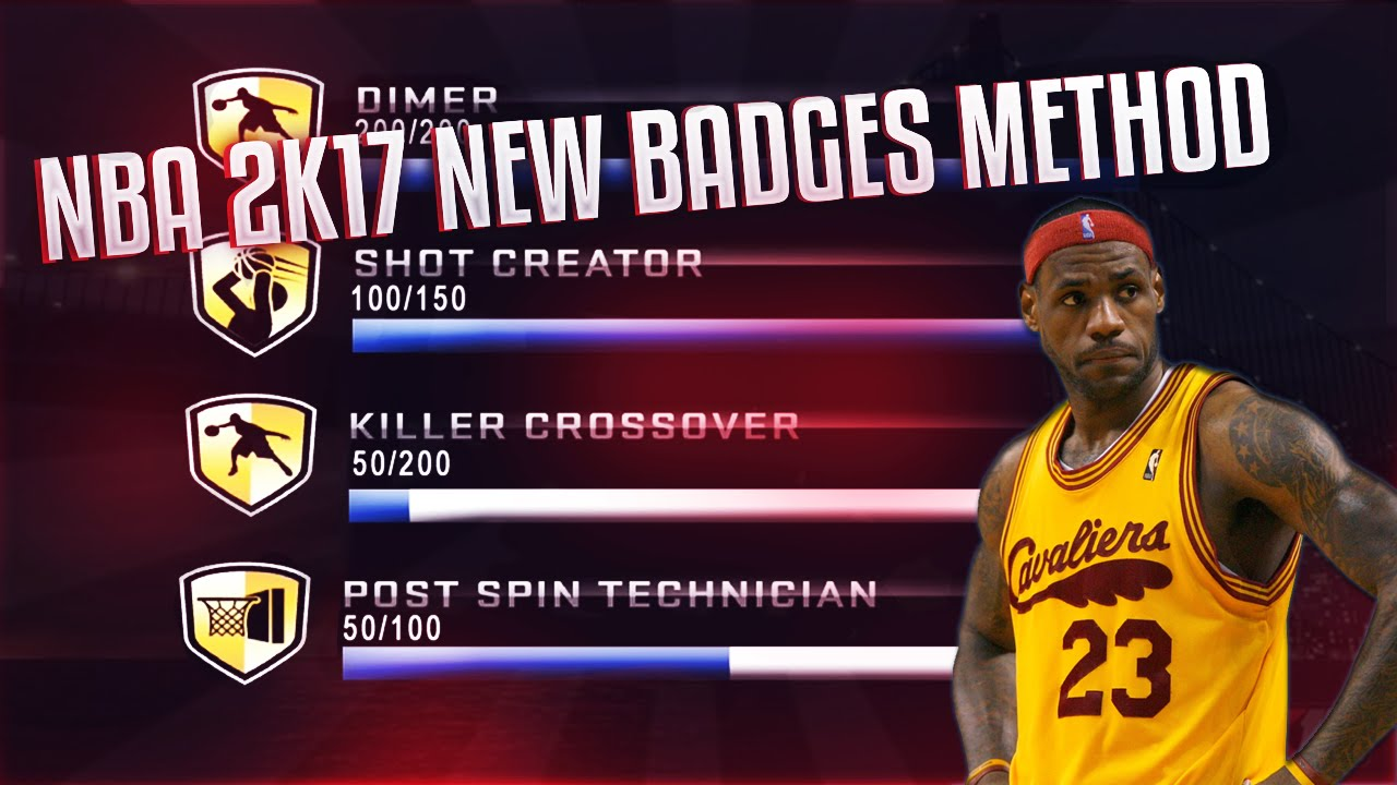 how to get nba 2k17 badges