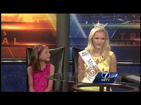 Miss Nebraska visits the studio, discusses preparations for Miss America