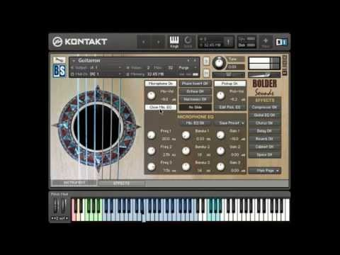 Guitarron sample library - BOLDER Sounds