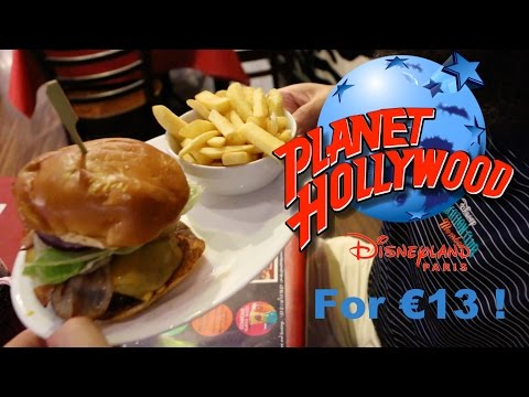 Planet Hollywood at Disney Village with a groupon for €13