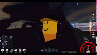 im in my mums car in roblox