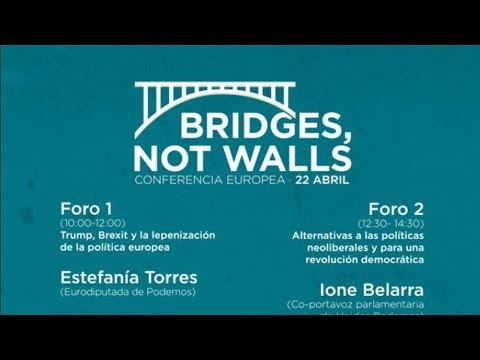 Conferencia Internacional 'Puentes, no muros'