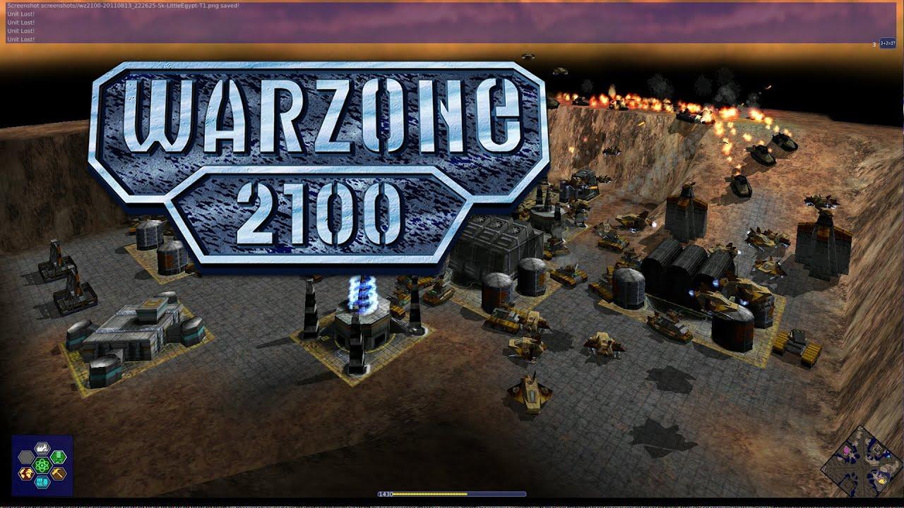 Warzone 2100 Gameplay - YouTube