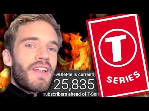 PewDiePie vs T-Series - The Last Stand