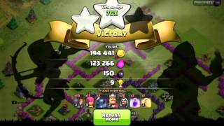 Clash Of Clans - WIZARDS and P.E.K.K.A. RAID