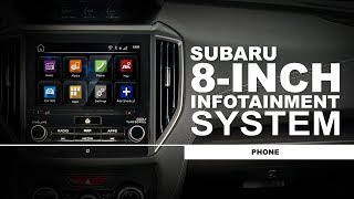 Subaru How-To Guide: 8-inch Infotainment System - Phone