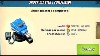 SHOCK BLASTER LEVEL 1 | Boom Beach | PROTOTYPE DEFENSE