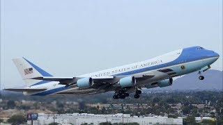 MAGA: President Donald Trump Departure to Paris, Bastille Day in Air Force One and Marine One