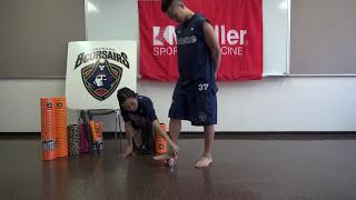 足裏をFoot Rollerを使ってほぐす TriggerPointTM Performance Therapy 横浜ビーコルセアーズ x Mueller Japan 放散痛 検索動画 25