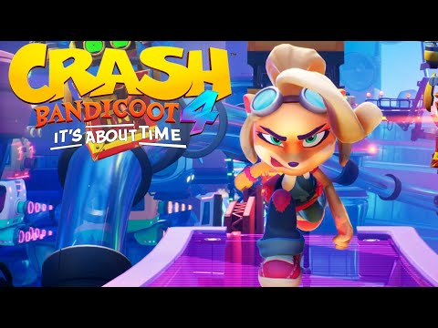 Crash Bandicoot 4: It's About Time – Gameplay + Screenshots