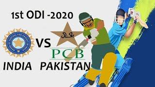 1st ODI INDIA vs PAKISTAN 2020 Full series Cricket 19 live Gameplay