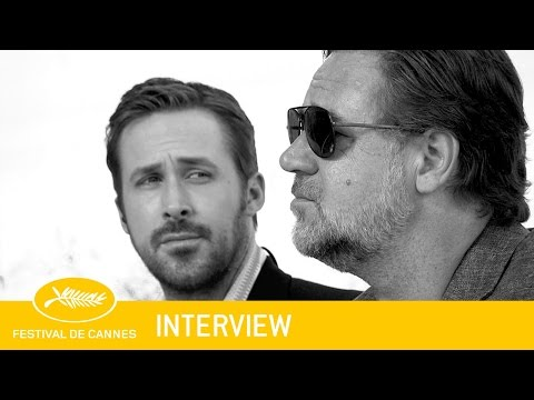 THE NICE GUYS - Interview - EV - Cannes 2016