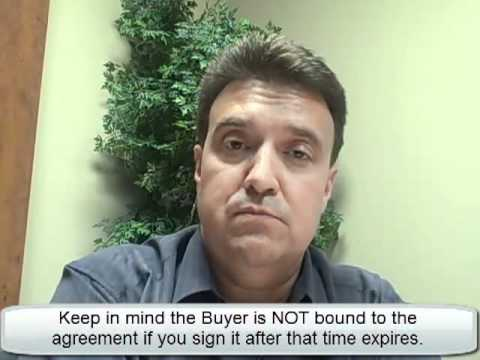 Cambridge Realtor Discusses How To Sell A House On Your Own. The Offer. Lesson 3 of 15