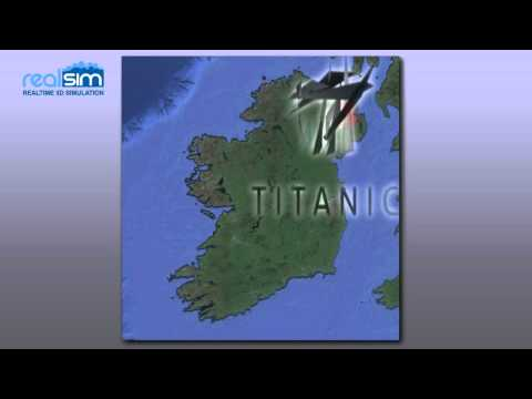 Animating Irish Ice Sheet during the last Glacial Period