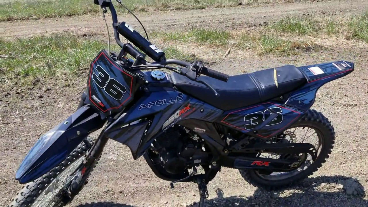 250cc apollo dirt bike 250rx for sale from saferwholesale com youtube