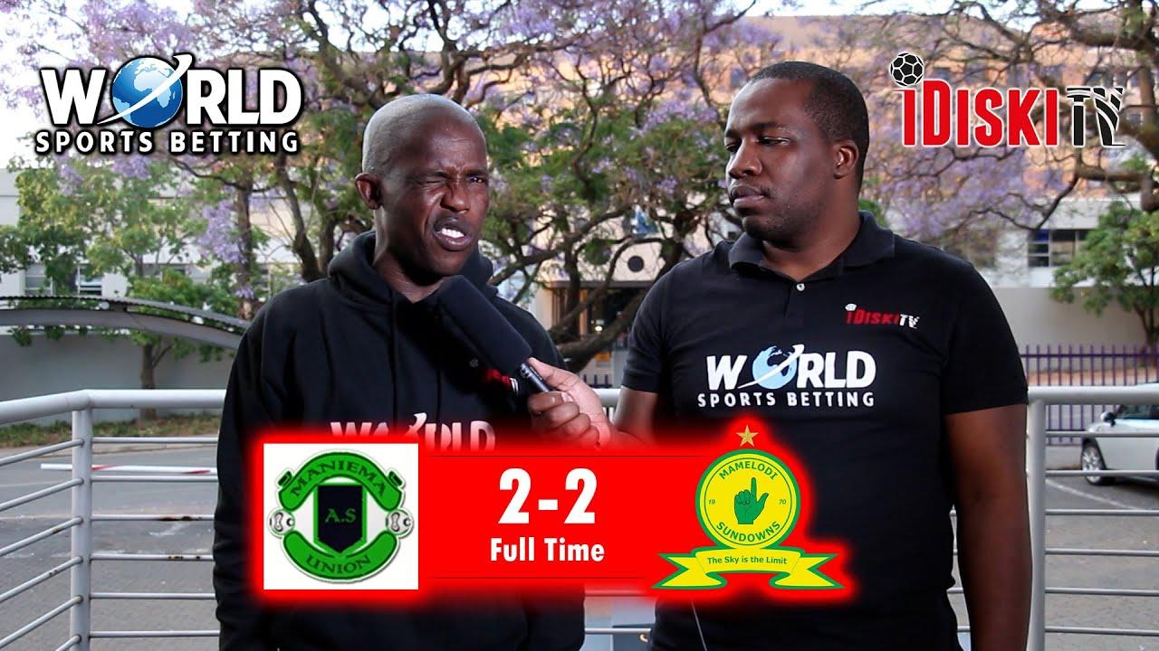 Download Maniema 2-2 Mamelodi Sundowns   Downs Have The Upper Hand in This One   Junior Khanye