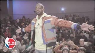Dwyane Wade surprises his high school at screening of his documentary | NBA on ESPN