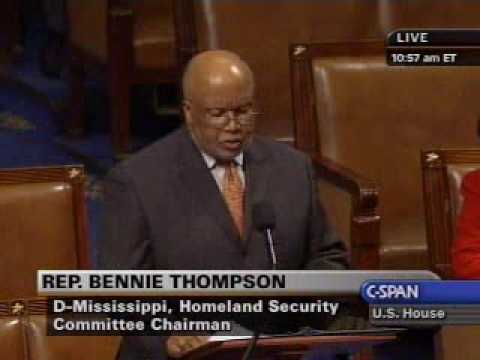 Chairman Thompson on the Rule for the TSA Authorization Act of 2009
