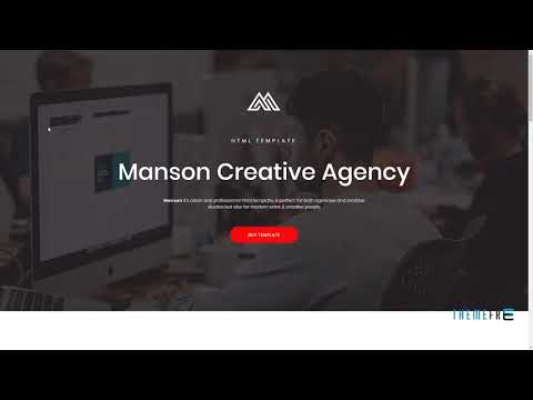 Manson - Creative Agency HTML Template        Sora Jarred