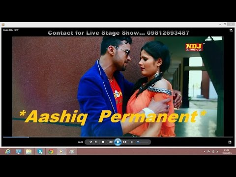 Aashiq Parmanent | Haryanvi New Super Hit DJ Love Song 2015 | Sonu Garanpuria | Anjali Raghav