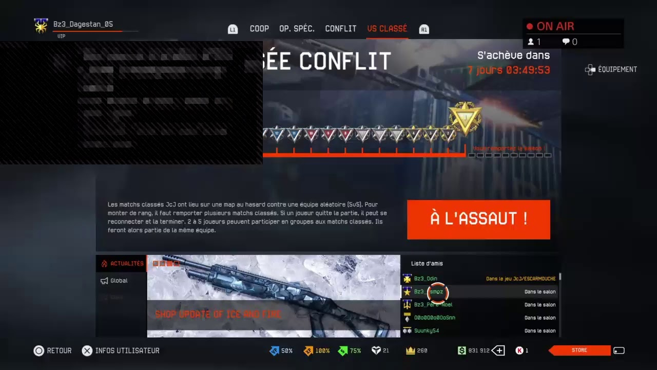 Warface Ps4 Clan Brazz3rs