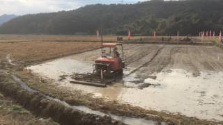 leveling machine for paddy field