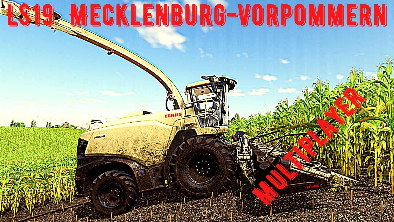 LS19Mecklenburg-Vorpommern #17-Die Maisernte beginnt ...