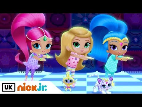 Shimmer and Shine   Sleepover Party   Nick Jr. UK