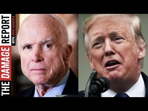 Trump Spends Weekend Attacking John McCains Ghost