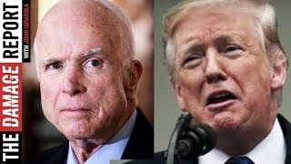 Trump Spends Weekend Attacking John McCain's Ghost