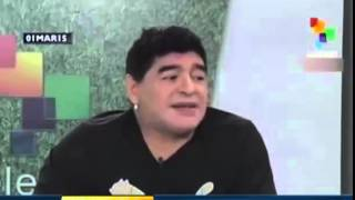 Diego Maradona  sekran 2015 new look