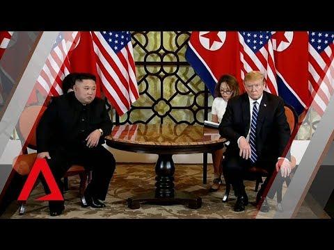 Trump-Kim summit: Leaders kick off one-on-one bilateral meeting in Vietnam