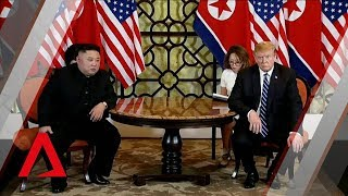 Trump-Kim summit: Leaders kick off one-on-one bilateral meeting in Vietnam US President Donald Trump and North Korean leader Kim Jong Un held a press conference before their one-on-one bilateral meeting at the second Trump-Kim ...