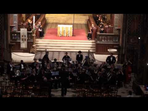 Shepherd University Wind Ensemble - Frigolet Abbey - France