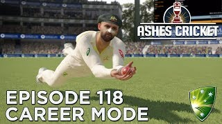 ASHES CRICKET | CAREER MODE #118 | TEST CAPTAINCY DEBUT!