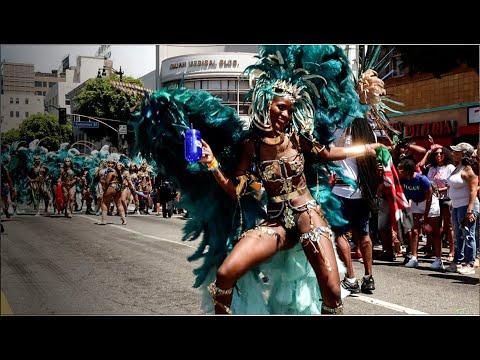2019 Hollywood Caribbean Carnival    Afro Caribbean Dance
