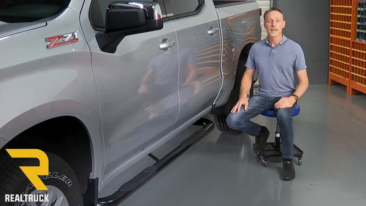 "How to Install Ionic 3"" Black Nerf Bars on a 2019 Chevy ..."