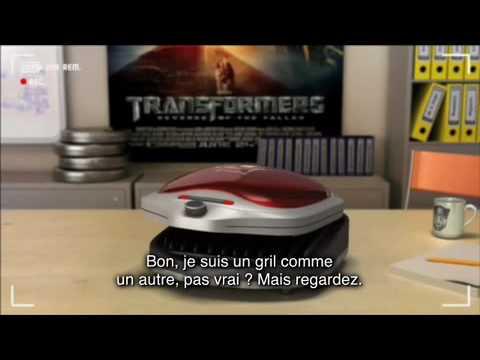 Casting Freddy - Transformers 2 : La revanche poster