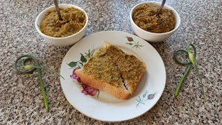 Вкуснейшая намазка на хлеб рецепты из стрелок чеснока