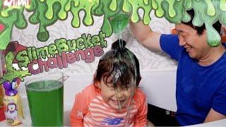 도전!! 슬라임베프 액체괴물 액괴 슬라임 버킷 챌린지!! 뽀로로 장난감 놀이 LimeTube & Toy 라임튜브
