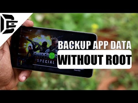 Backup Game And APP DATA Android Tutorial | Without ROOT | Restore Data