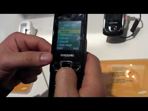Samsung E2550 Monte Slider Review HD ( in Romana ) - www.TelefonulTau.eu -