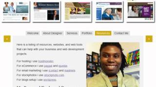 Web Design Services by LaShanda Henry (PrettyProfessionalWebsites.com)