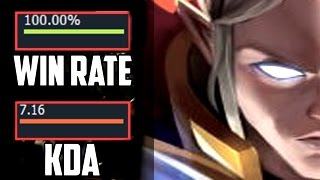 The Best Pro Invoker Ever - 100% WINRATE !!!