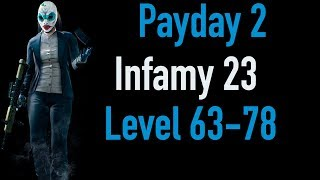 Payday 2 Infamy 23 | Part 2 | Level 63-78 | Xbox One