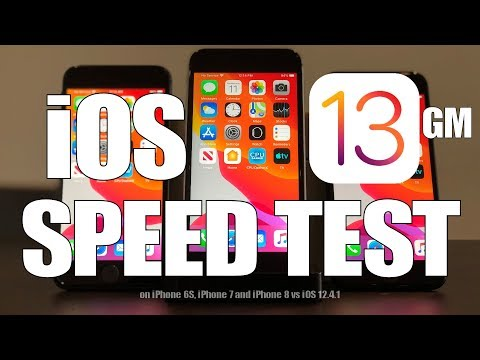 Speed Test : iOS 13 - How fast is it?