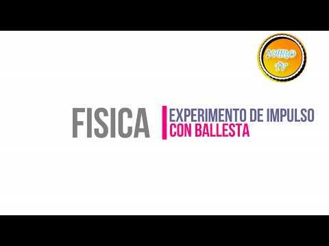 EXPERIMENTO DE FISICA - IMPULSO Y COMO HACER UNA BALLESTA