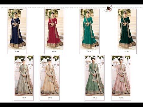 Latest Indian Dresses Collections 2018    Vinay Fashion    Rajmahal 2 Rang Plus