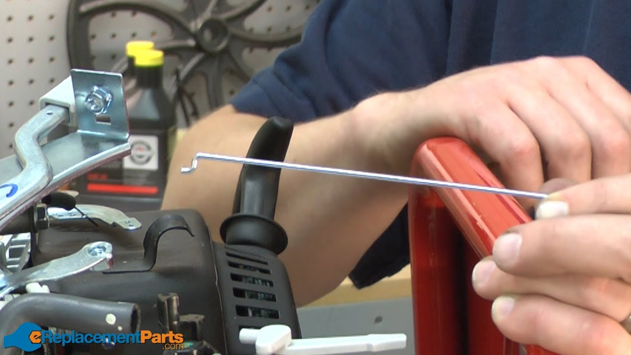 How To Replace The Throttle Linkage On A Troy Bilt Super