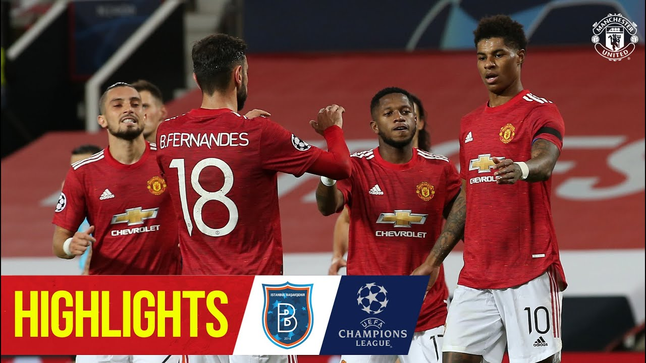 Highlights   Manchester United 4-1 Istanbul Basaksehir   UEFA Champions League